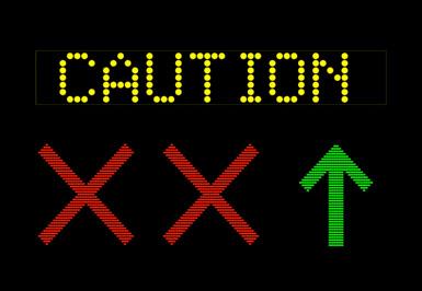 Industrial  Display Signs