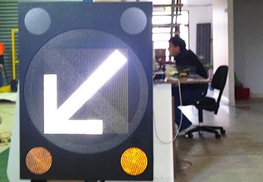 Advanced Lane Use Sign