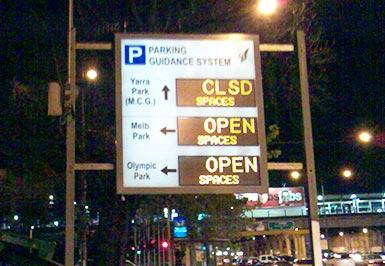 Car Par Guidance System