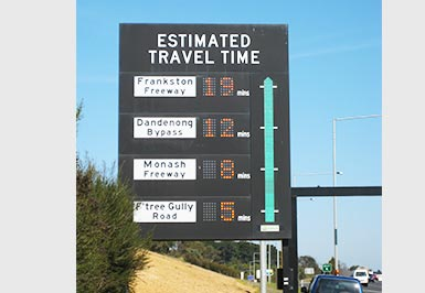 Travel Information Signs