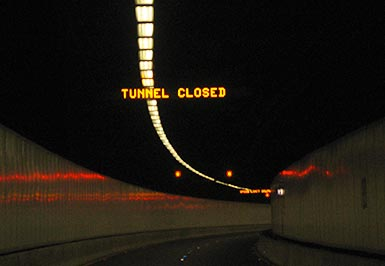 Tunnel Message Signs